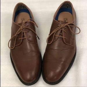 David Stone Graham Classic walnut Dress Shoes